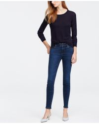 Ann Taylor | Tall Modern Super Skinny Ankle Jeans | Lyst