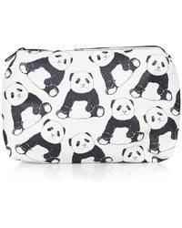 Topshop Panda Print Make-Up Bag multicolor - Lyst
