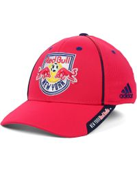 Adidas New York Red Bulls Mls Mid Fielder Cap - Lyst