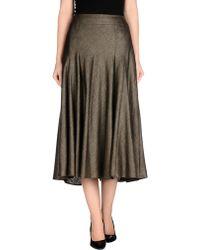 Schneiders - 3/4 Length Skirt - Lyst