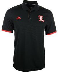 Adidas Mens Louisville Cardinals Sideline Coordinator Polo Shirt - Lyst