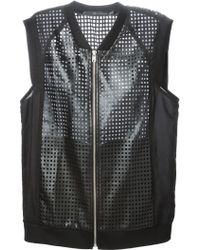 Kai-aakmann - Perforated Gilet - Lyst