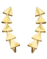 Katie Diamond Jewelry | Charlie Climber Earrings, Assorted Metals | Lyst
