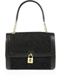 Dolce & Gabbana Dolce Slim Medium Lace Shoulder Bag - Lyst