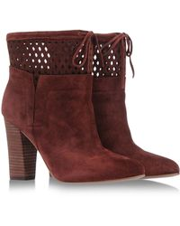 Belle By Sigerson Morrison Ankle Boots - Lyst