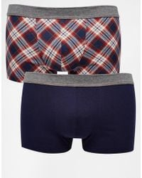 Esprit - 2 Pack Printed Trunks - Lyst