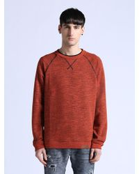 Diesel Red Serge Sweater - Lyst