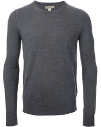 Burberry Brit Elbow Patch Sweater - Lyst