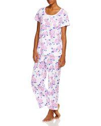 Carole Hochman - Key Item Capri Pyjama Set - Lyst