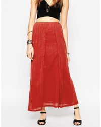 House of Harlow 1960 - Nena Maxi Skirt - Lyst