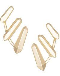 Kendra Scott 'Billie' Spike Earrings - Lyst