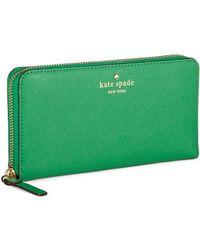 Kate Spade Cedar Street Lacey Wallet - Lyst