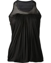 Yigal Azrouel Cut Out Chest Top - Lyst