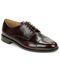 Cole Haan - Caldwell Leather Loafers - Lyst