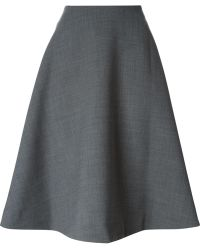 Marc By Marc Jacobs Full Midi Skirt - Lyst