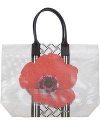Furla Handbag white - Lyst