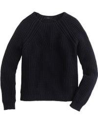 J.Crew Mixed-Stitch Sweater - Lyst
