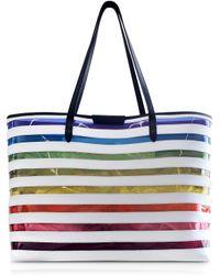 Mary Katrantzou - Rainbow-stripe Tote - Lyst