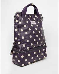 Cath Kidston - Double Decker Backpack - Lyst