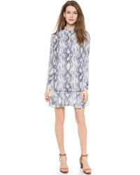 Rachel Zoe Sharona Shirtdress - Lyst