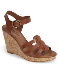Lucky Brand 'Willows' Wedge Sandal - Lyst