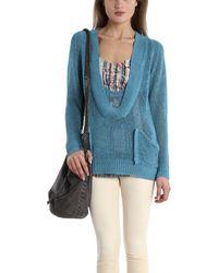 VPL Schlemmer Scoop Sweater blue - Lyst