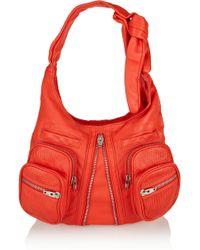 Alexander Wang Donna Leather Shoulder Bag - Lyst