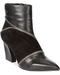 Charles By Charles David Lact Heeled Booties - Lyst