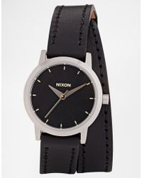 Nixon Kenzi Wrap Black Watch - Lyst