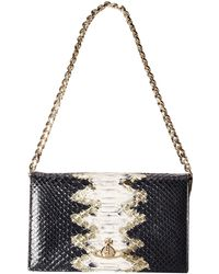 Vivienne Westwood Snake Print Shoulder Bag animal - Lyst