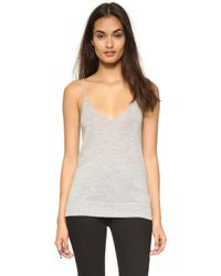 Equipment - Cashmere Layla Tank - Lyst