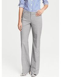 Banana Republic Jackson Fit Grey Lightweight Wool Trouser Gray - Lyst