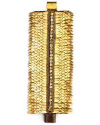 Deepa Gurnani Feather Cuff - Lyst