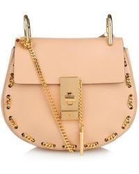 Chloé Drew Mini Threaded-Chain Shoulder Bag - Lyst