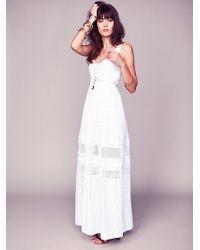 Free People Jill'S Limited Edition Bustier Dress - Lyst