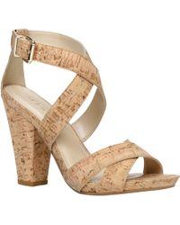 Aldo Stromquist Block Heel Strap Sandals - Lyst