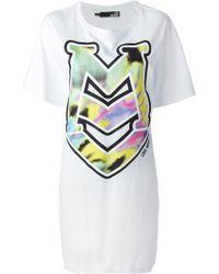 Love Moschino Oversized Logo Print T-Shirt - Lyst