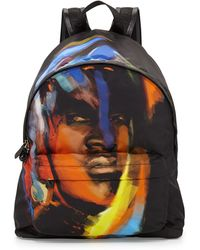 Givenchy Faceprint Nylon Backpack - Lyst