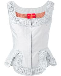 Vivienne Westwood Red Label Corset Top - Lyst