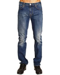 Armani Jeans Denim Regolare Slim Stretch - Lyst
