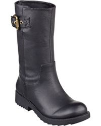 Nine West Ameusz Leather Boots - Lyst