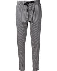 Haider Ackermann Drawstring Trousers - Lyst