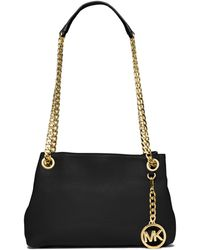 MICHAEL Michael Kors Jet Set Chain Crossbody Bag black - Lyst