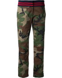 Harvey Faircloth - Camouflage Trousers - Lyst