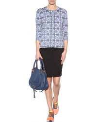 Burberry Brit - Denim Pencil Skirt - Lyst