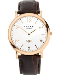 Links of London - Noble Classic Gold-plated Stainless Steel Watch - Lyst