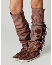 Free People Drifter Mocc Boot - Lyst