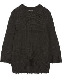 Theyskens' Theory Knopy Chunky-knit Sweater - Lyst