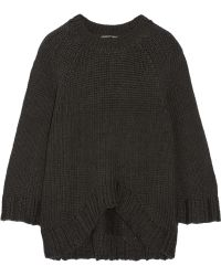 Theyskens' Theory Knopy Chunky-knit Sweater - Lyst
