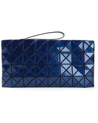 Bao Bao Issey Miyake Blue Lucent Clutch - Lyst
